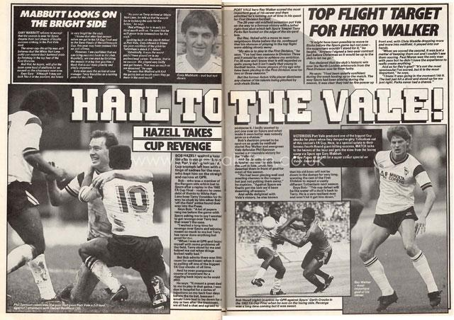 Match weekly clipping 1988