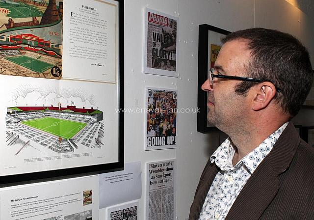 Rob Fielding, curator of the exhibition