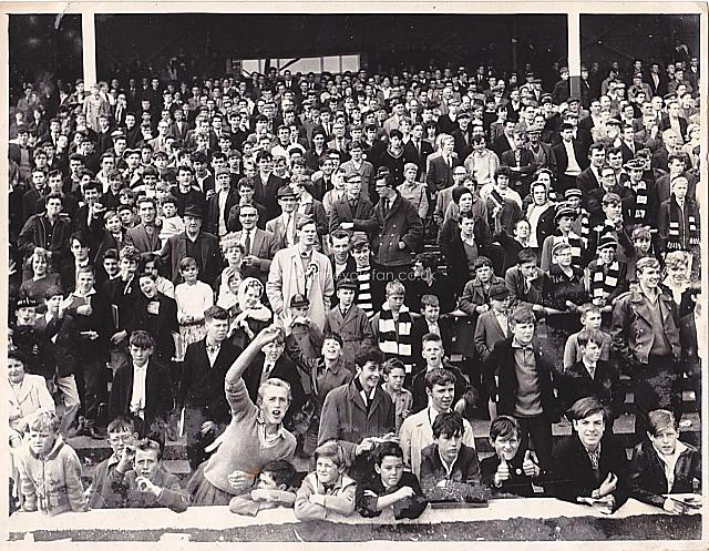 The terraces in the 1950s