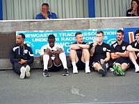 Players at Newcastle Town