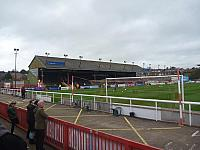 Main stand at Exeter