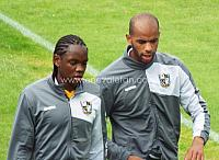 Christopher Mbamba and Rigino Cicilia