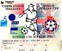 Anglo Italian ticket