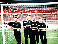 John Jeffers, Keith Houchen, Martin Foyle and Andy Porter