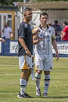 Tom Pope and Louis Dodds
