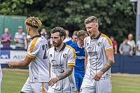 Theo Vassell, David Worrall and Scott Quigley