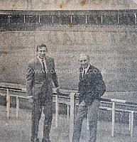 Roy Chapman and Stanley Matthews