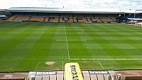 The Vale Park pitch