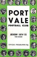 1974-75 home programme