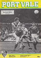 Port Vale v Bristol City 1983