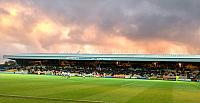 Clouds over the Railway stand