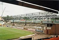Construction of the new Hamil Rd stand in the 1990s
