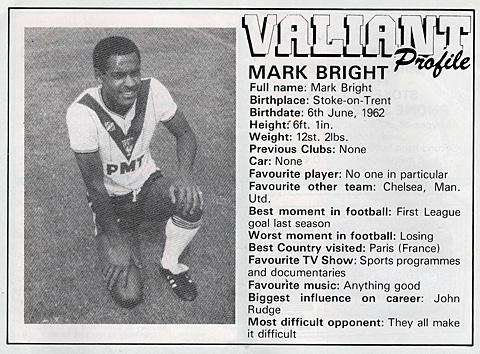 Mark Bright interview
