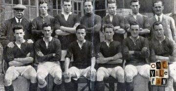 1927 Port Vale team line-up