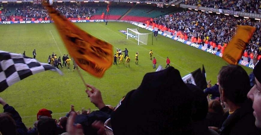 LDV Vans Trophy Final 2001, Port Vale 2-1 Brentford, 2001