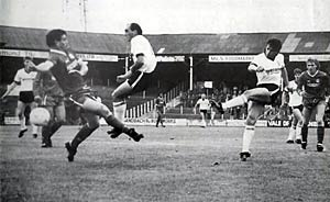 Andy Jones in action