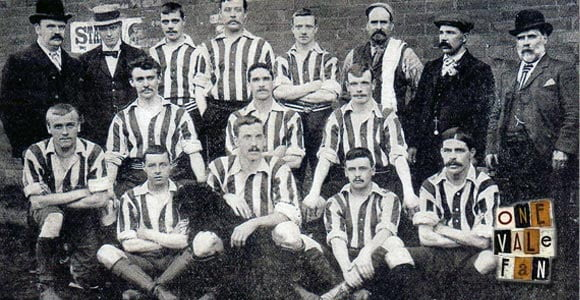Early Port Vale FC line-up