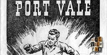 Port Vale v Everton programme 1956