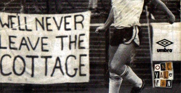 Fulham v Port Vale programme 1987