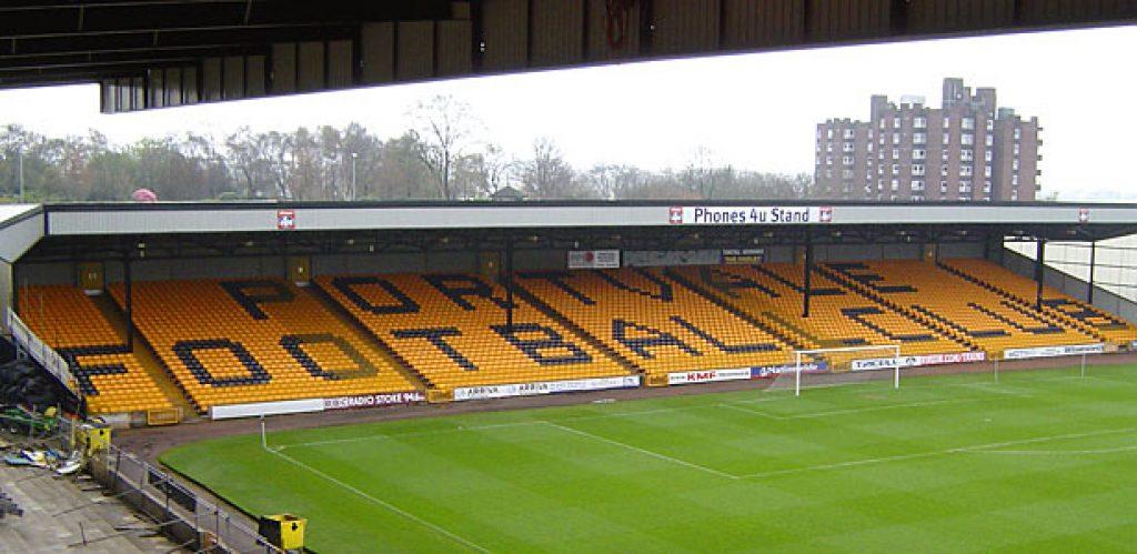 Hamil Road Stand, Vale Park stadium 2012