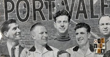 The Port Vale Iron Curtain side 1954