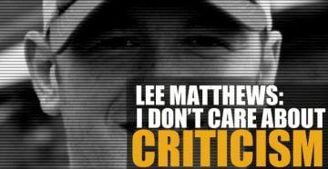 Lee Matthews interview