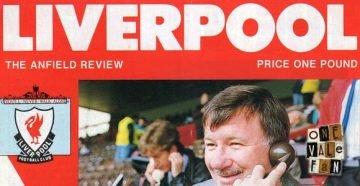 Liverpool v Port Vale programme 1991