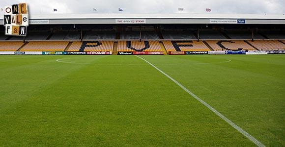The Railway stand, Vale Park stadium