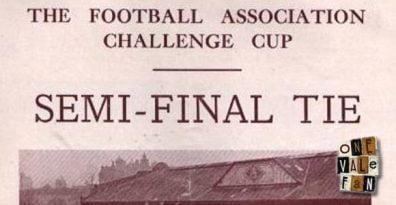 Port Vale v West Bromwich Albion, FA Cup semi-final programme