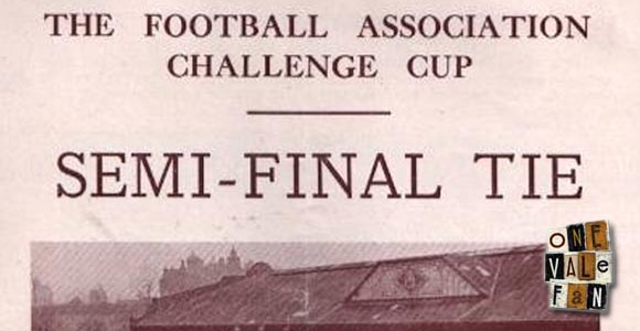 The FA Cup semi-final programme, 1954