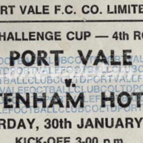 BBC Radio Five Live's special programme on Vale's win over Spurs 1988