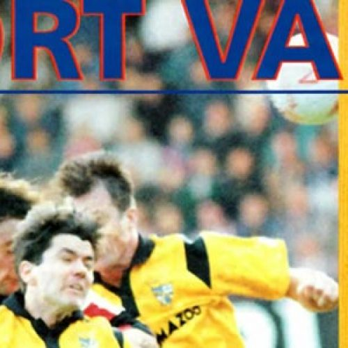 Port Vale vs Stoke City 1992 programme