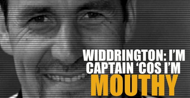 Tommy Widdrington interview