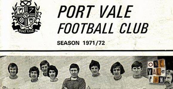 Port Vale v Torquay Utd programme 1972