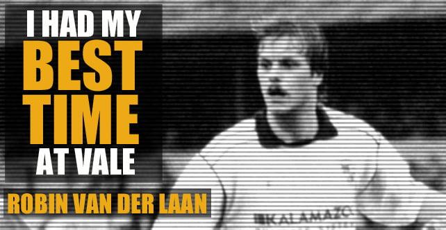 Van der Laan: I had my best time at Vale Park
