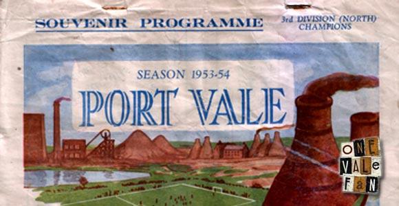 Port Vale v Wrexham, 1954