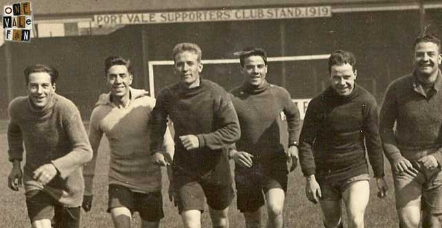 Vintage 1920's Port Vale pictures revealed
