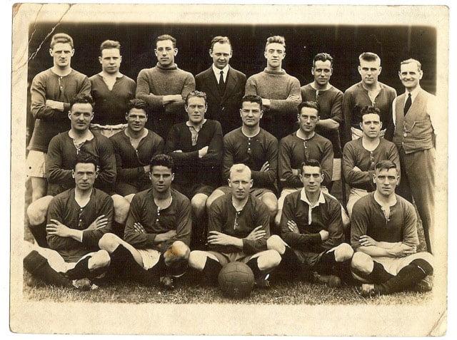 1929-30 Port Vale team photo