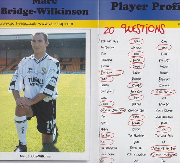 Marc Bridge-Wilkinson interview