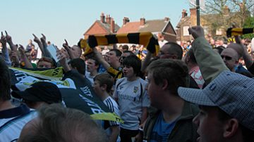 The Port Vale coffin march