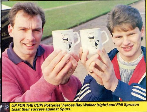 Phil Sproson and Ray Walker