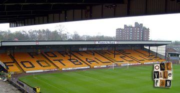The Hamil Road End - Vale Park