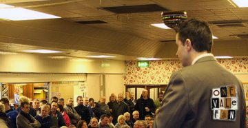 Port Vale Supporters Club meeting 2012