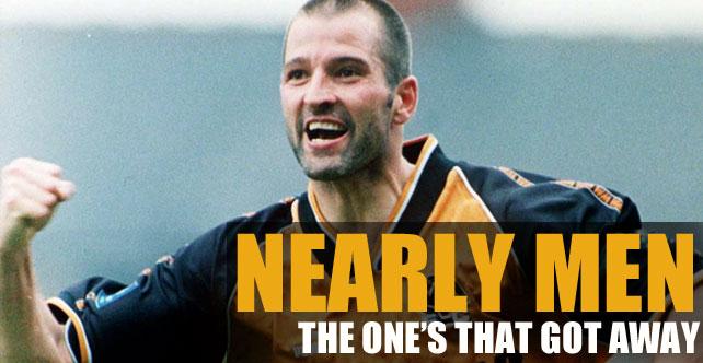 Nearly men number one: Steve Bull