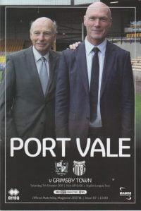 2017 Port Vale programme