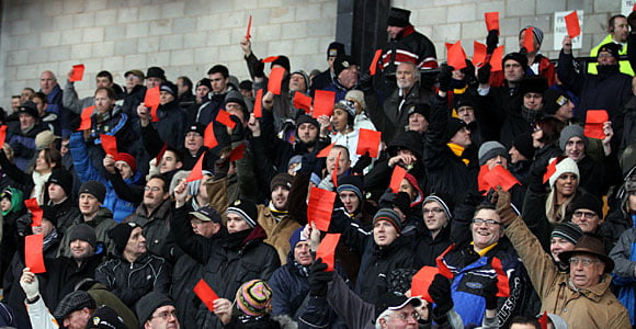 Why Valiants should support protesting Blackpool fans