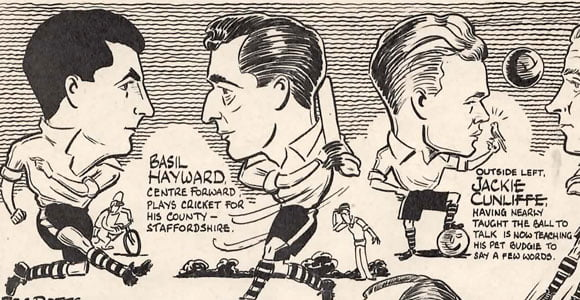 1954: Salute to Port Vale cartoon