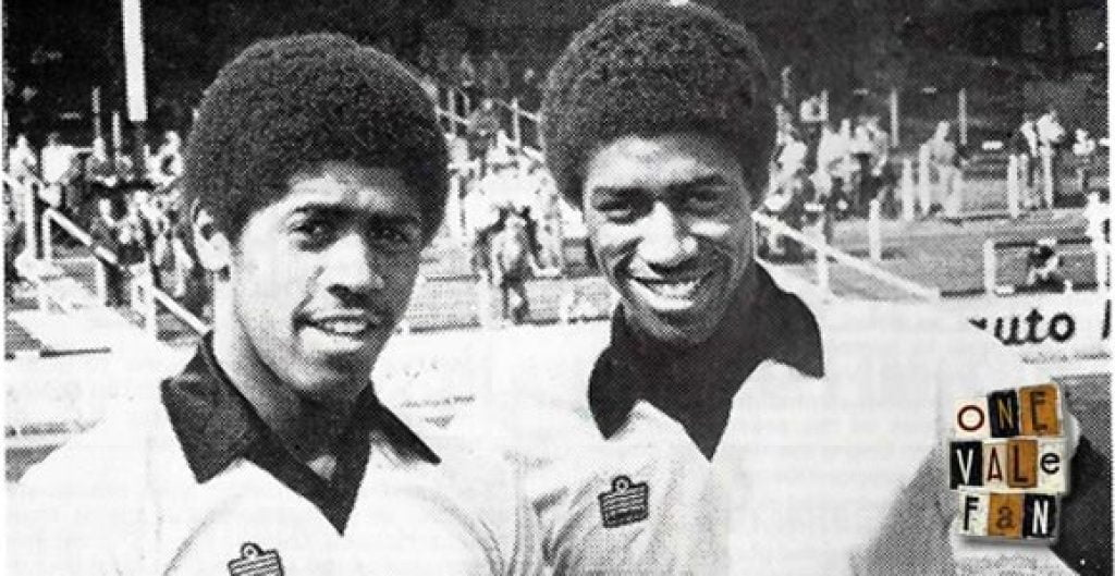 Mark Chamberlain and Neville Chamberlain of Port Vale