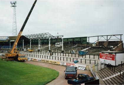 Demolition work begins