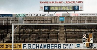 Hamil End scoreboard, Vale Park